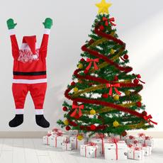 cute, Christmas, santaclausdecoration, Hanging