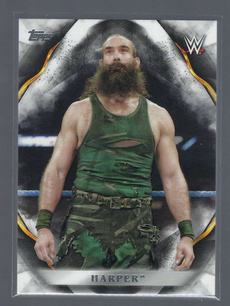 harper, WWE, 2019wrestlingcard, Wrestling