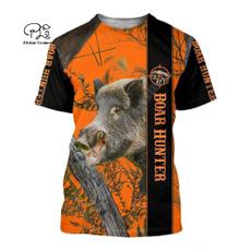 Summer, Funny T Shirt, Hunter, short sleeves