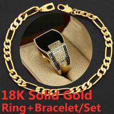 hip hop jewelry, 18ksolidgoldbracelet, gold, Engagement Ring