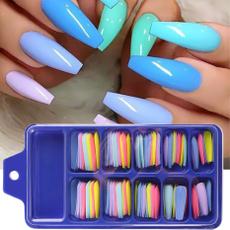 nail stickers, nail tips, Beauty, Colorful