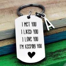 Funny, Love, Gifts, couplekeychain