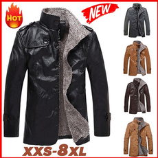 leatherblazerformen, middleaged, menblazer, Winter