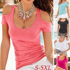 Summer, Shorts, Shirt, Sleeve
