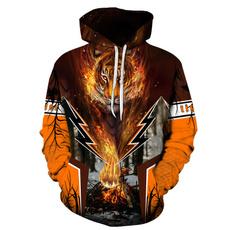 hooded, Animal, Fashion Hoodies, Sweaters