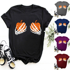 happyhalloween, Shorts, pumpkinshirt, Skeleton