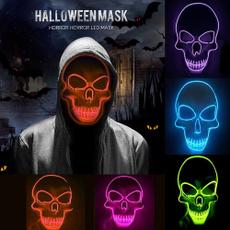 scary, Cosplay, skull, Halloween