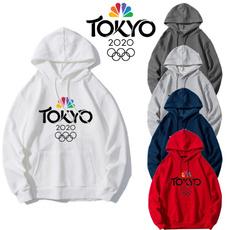 Fleece, tokyoolympic, white hoodie, unisexhoodie