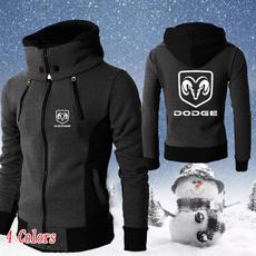 men coat, hooded, Winter, zipperjacket