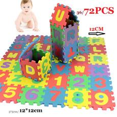 Toy, babycrawlingmat, Colorful, azalphabet