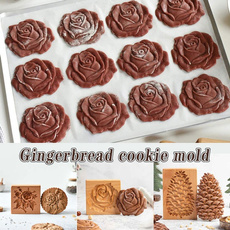 diycookietool, Baking, Christmas, Wooden
