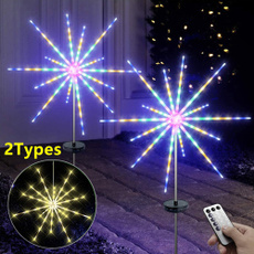 twinklelight, Outdoor, fireworklight, Home Decor