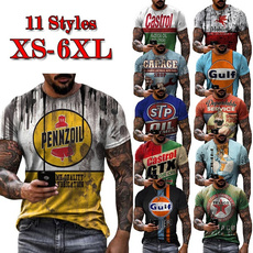 Summer, Plus size top, roundnecktshirt, Clothing