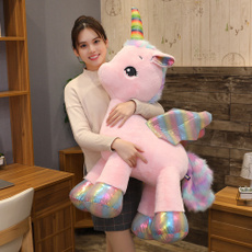 pink, rainbow, horse, Toy