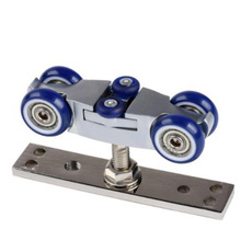 foldingdoorroller, 4wheelfoldinghangingwheel, Wooden, Home & Living