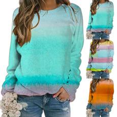 Plus Size, ladiessweater, Shirt, Colorful