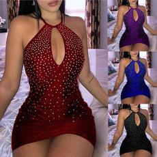 Mini, strapless, dressesforwomen, halter dress