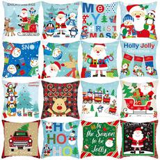 christmaspillowcase, case, Christmas, Home & Living