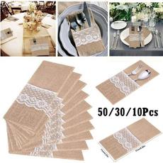 cutleryholder, tablewarebag, Lace, Cover