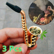Mini, tobacco, weedpipe, Metal