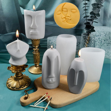 Sculpture, portraitsculpture, Silicone, Molds