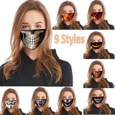 Cloth, halloweenmask, 3ddigitalprintingmask, Face Mask