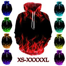 Couple Hoodies, hooded, 3d sweatshirt, unisex