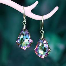 Fashion, Jewelry, Earring, womens925silvercrystalearring
