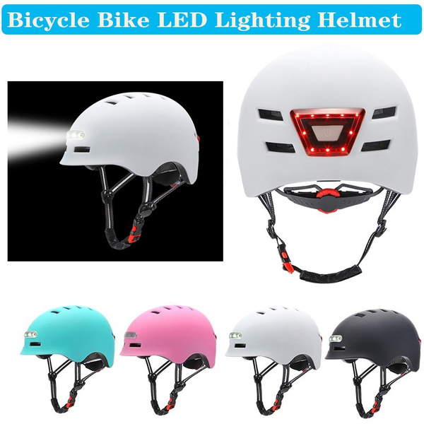 Helmet, Lighting, Bicycle, warninglighthelmet
