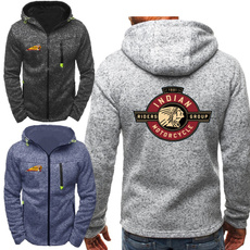 Fashion, pullover hoodie, Spring, zippers