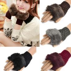 fingerlessglove, cute, warmglove, Knitting