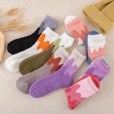 Hosiery & Socks, Fleece, womensock, Winter
