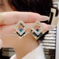 Blues, DIAMOND, Jewelry, Earring