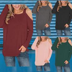 shirtsforwomen, roundneckshirtsforwomen, strapless, Plus Size