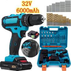 Electric, handdrill, Tool, Screwdriver