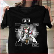 knightstemplarshirt, Summer, christiantshirt, Fashion