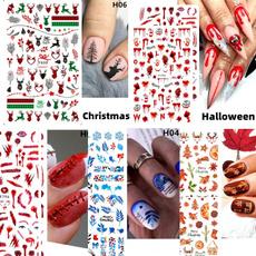 nail decoration, Halloween Decorations, nail decals, art