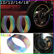 reflectiverimstripe, Car Sticker, Cars, carreflectivesticker