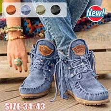 Shoes, Tassels, Medieval, suedeshoe