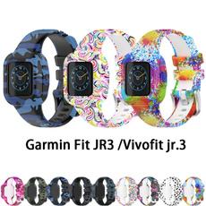 garminfitjr3watchstrap, garminfitjr3watchband, garminvivofitjr3, Silicone