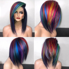 wig, Cosplay, Colorful, Wigs cosplay