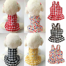 Summer, plaid, Christmas, dog dresses
