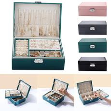Box, leatherstoragecase, portablestoragebox, ringbox