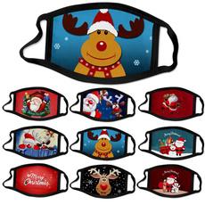 dustproofmask, Christmas, unisex, printedmask