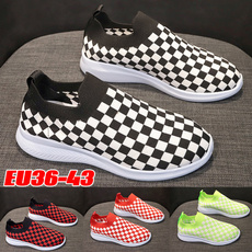 knitfabric, Fashion, shoes for womens, Casual Sneakers
