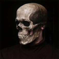 Helmet, Head, latex, skull