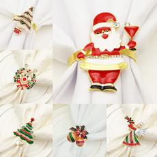 cute, Christmas, Jewelry, Metal