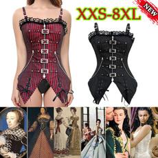 Vest, Lace, Steampunk, gothic
