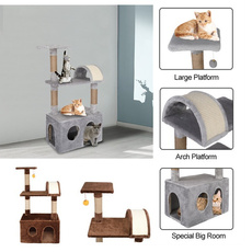 cathouse, brown, cattoy, catlitter