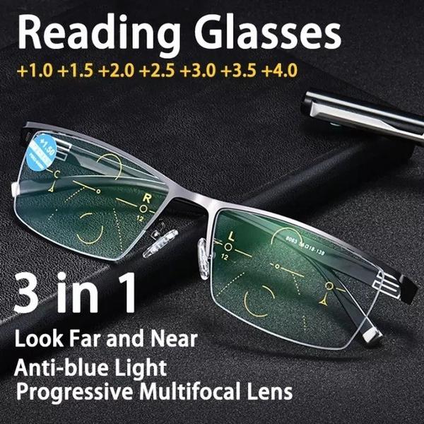 multifocal, Adjustable, bifocal, bifocalreadingglasse